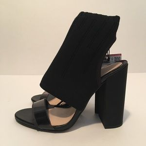 Zara heels with built in sock